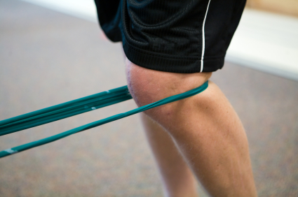 Knee and Resistance Band