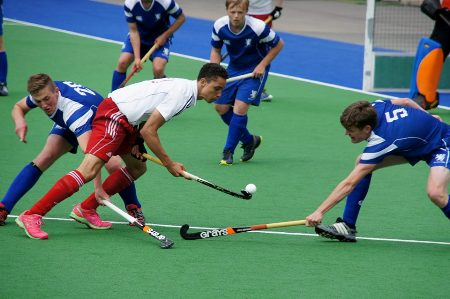 how to hold a field hockey stick correctly