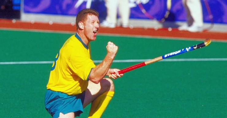 Australian Legend Jay Stacy at the Sydney Olympics